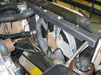 Landroverweb Com Fitting A Heavy Duty Kenlowe Cooling