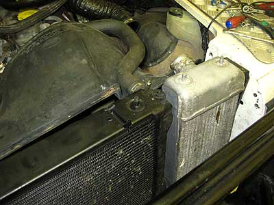 Old intercooler Defender