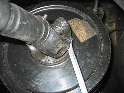 hand brake drum