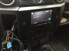 pioneer unit into double din land rover puma