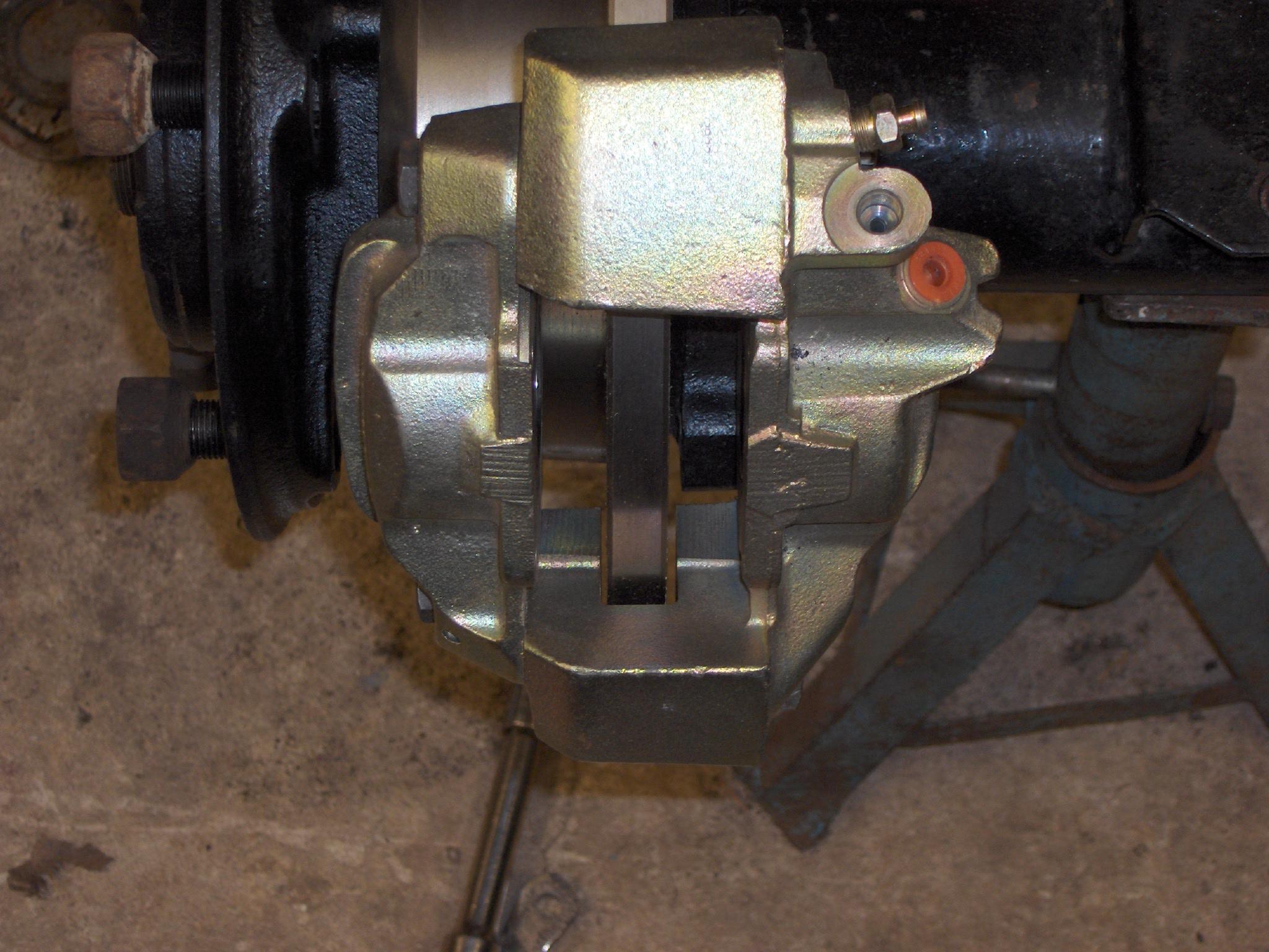 Changing Leaking Hub Seal Land Rover Brakes Diagram Disc Onto Pre 300tdi Salisbury Axle