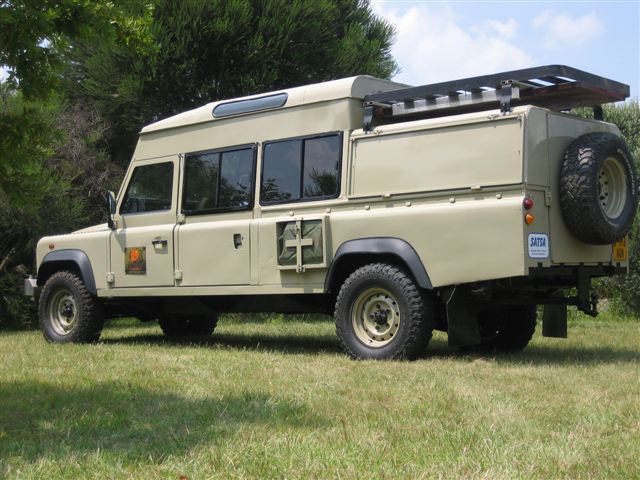 Defender Td5 150 inch conversion