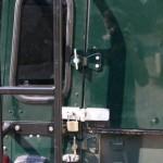 Rear door TD5 Double Cab