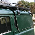 Land Rover rear body
