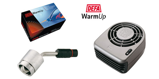 Defa Land Rover Warm Up and engine heater