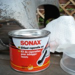 Sonax exhaust repais paste + glass fiber