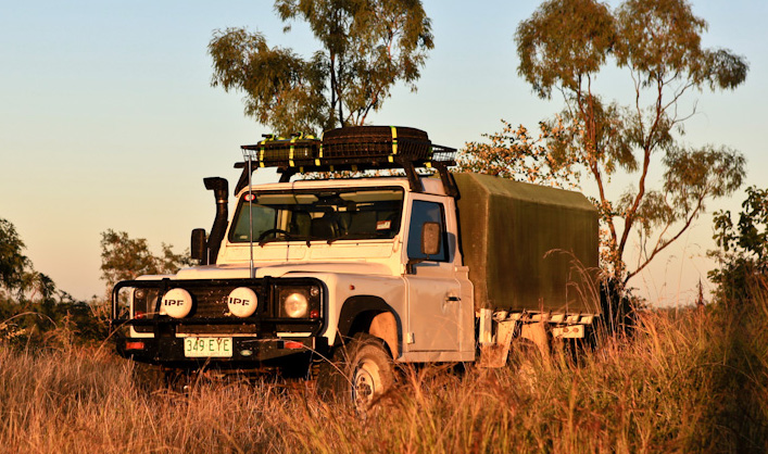 French Land Rover Defender Overland conversion