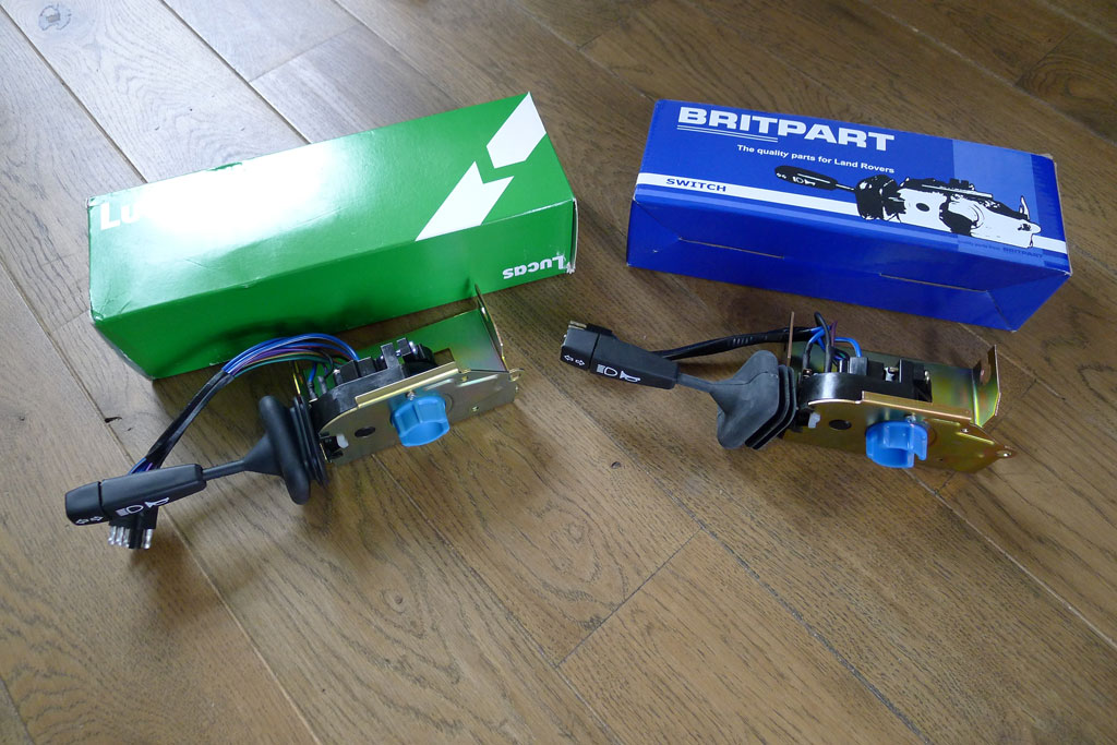 STC439 switch should you buy genuine Lucas or Britpart?