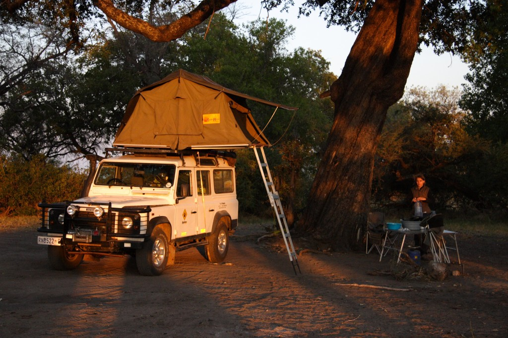 Land Rover Safari Botswana