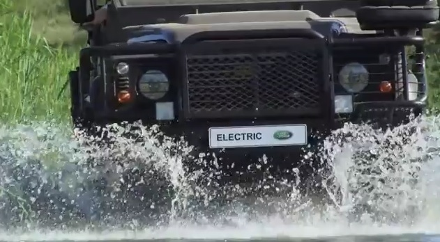 Electric Land Rover Londolozi