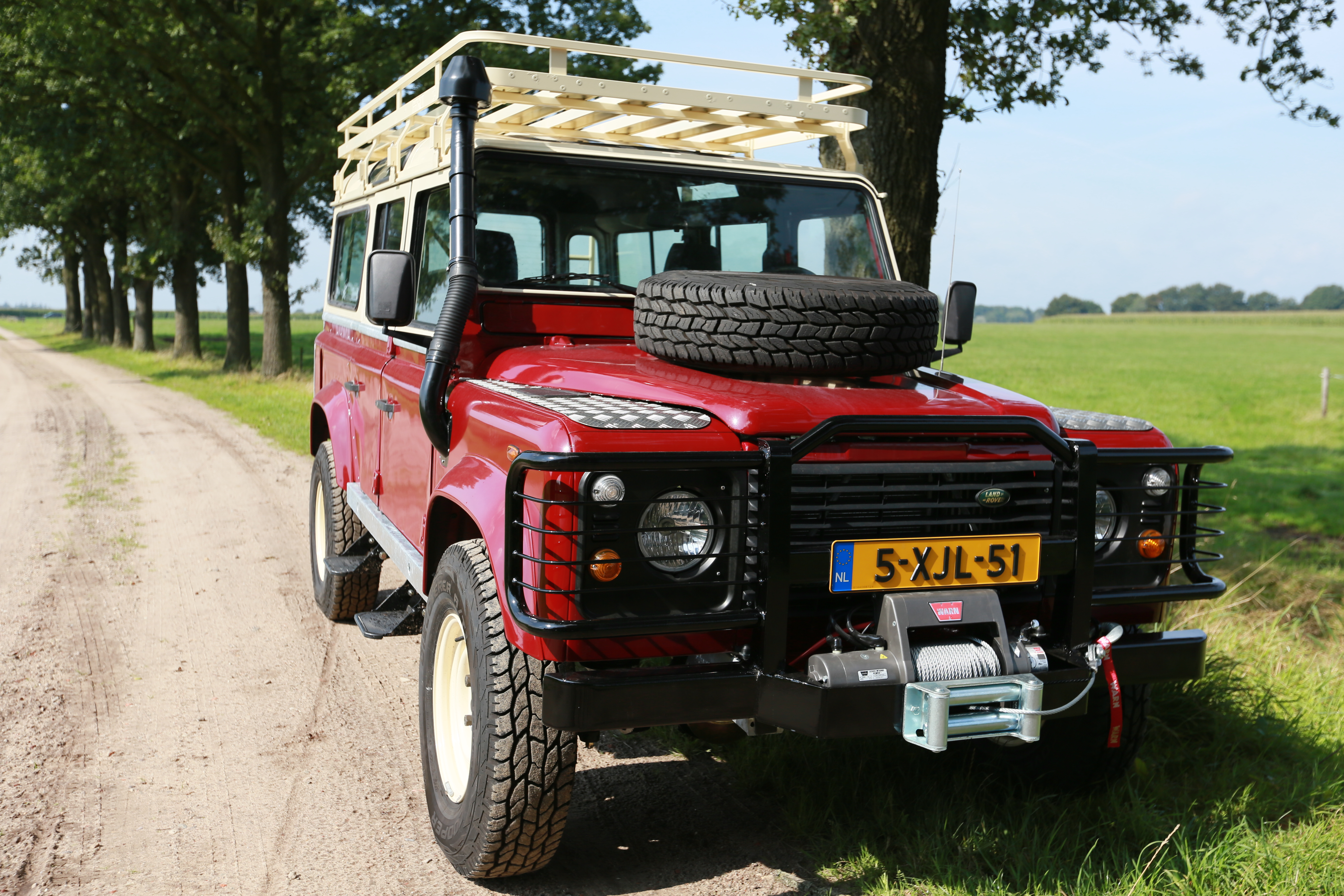 restored landrover defender see land exported left for pin drive recently rover sale built on hand please and