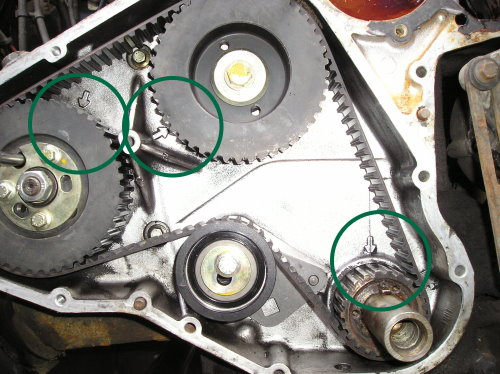 Timing Belt Change 200tdi Engine Landroverweb